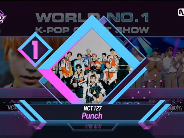 NCT 127 Raih Trophy Pertama Untuk Punch, #Punch1stWin Jadi Trending