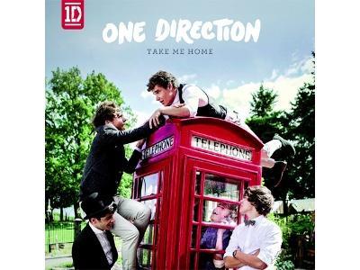 """One Direction Merilis Album Cover """"Take Me Home"""""""