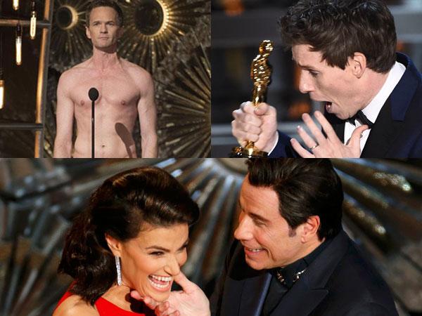 Momen-Momen Menarik di Oscars 2015 yang Tertangkap Kamera (Part 2)