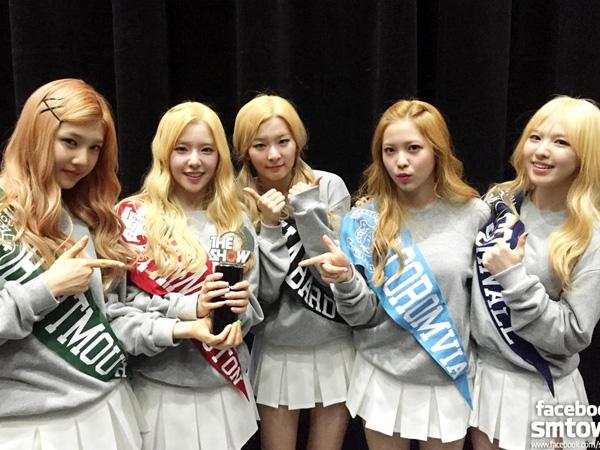Raih Trofi Kemenangan Pertama di Program Musik, Red Velvet Ungkap Perasaannya