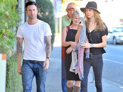 So Sweet! Adam Levine Dinner Bareng Calon Mertua!