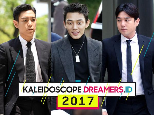 Inilah 10 Skandal dan Kontroversi Seleb Korea Paling Heboh Sepanjang 2017!