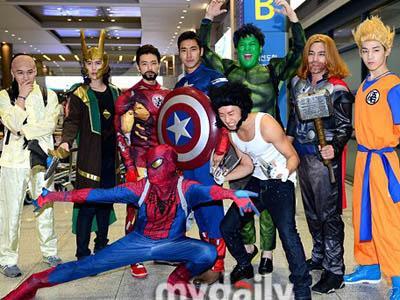 Pulang dari Amerika Selatan, Super Junior Berubah Jadi Tokoh Super Hero!