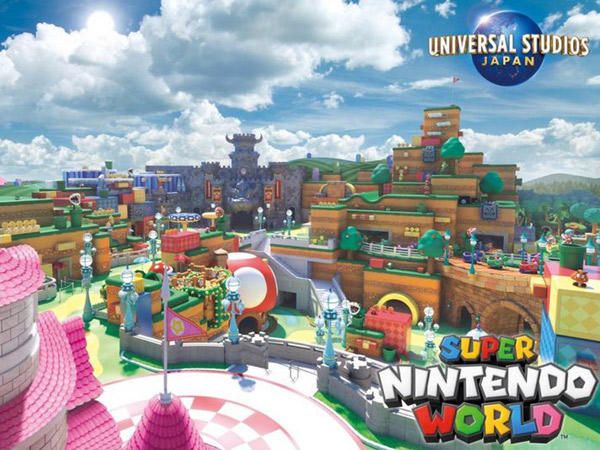 Universal Studio Jepang Hadirkan Arena Super Nintendo World, Main Bareng Mario!