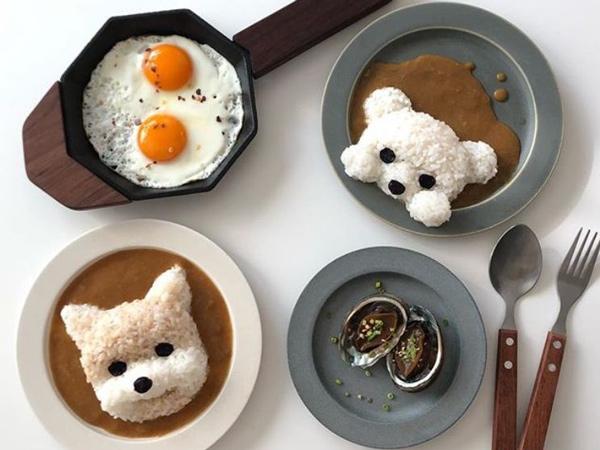 Enak dan Lucu, Ini Dia Inspirasi Kreasi Nasi Ala Food Stylish Korea Selatan