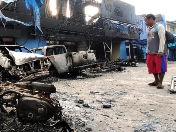 Kondisi Terkini Jayapura Imbas Kerusuhan Kamis Malam