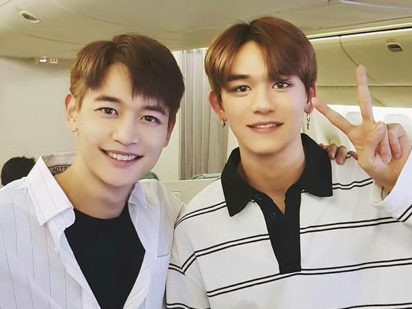 Interaksi Si Kembar Minho SHINee dan Lucas WayV Jadi Sorotan Fans