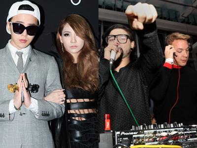 G-Dragon dan CL Tengah Sibuk untuk Proyek Album Diplo dan Skrillex!