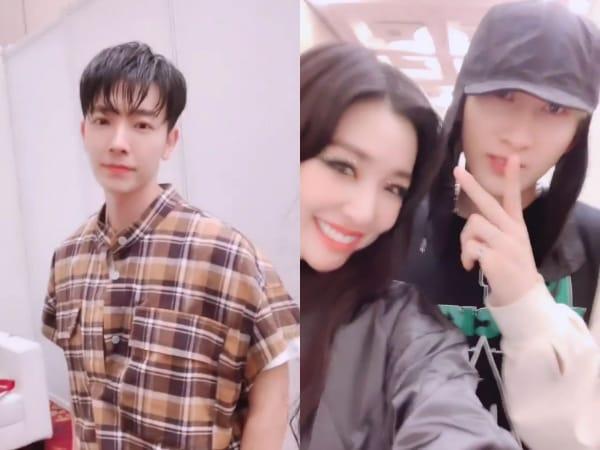 Tiffany Young Unggah Video Temu Kangen Donghae dan Eunhyuk di Indonesia