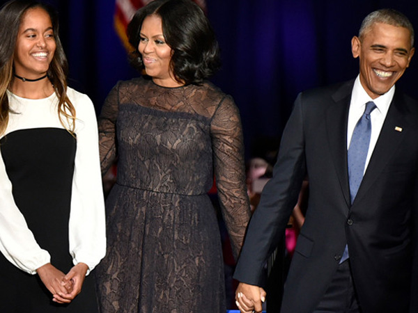 Sampai Menitikan Air Mata, Presiden Obama Sanjung Habis Michelle di Pidato Perpisahannya