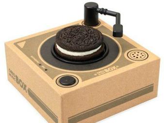 Uniknya Inovasi Oreo Ini Bisa Nikmati Biskuit Sambil Dengarkan Lagu di Music Box Mini!
