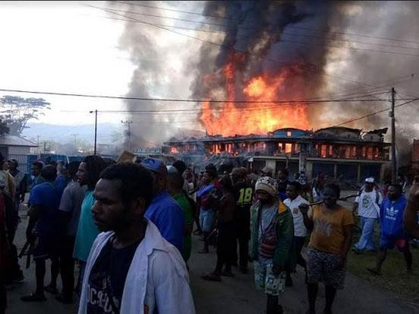 Kondisi Terkini Bandara Wamena Menyusul Aksi Demo Anarkis