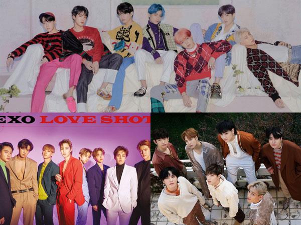 BTS, EXO, dan GOT7 Bersaing Rebutkan Predikat Top Social Artist di #BBMAs 2019