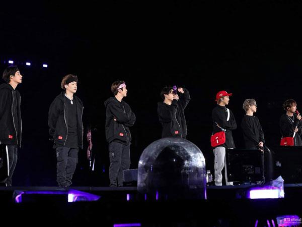 Terungkap Pendapatan Fantastis BTS dari Tur Dunia 'Love Yourself: Speak Yourself'
