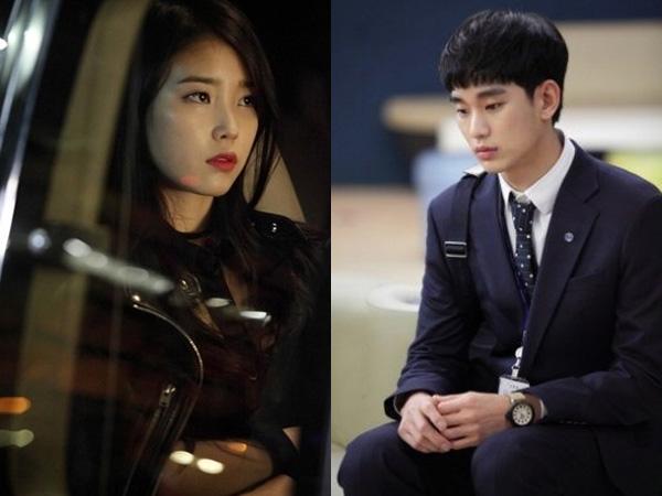 Kim Soo Hyun Terlihat Canggung, IU Tunjukkan Tatapan Dingin di Teaser Foto KBS 'Producer'