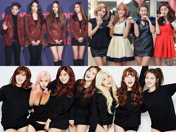 Susul 4Minute, Tiga Girl Group Ini Juga Diprediksi Bubar Usai Kontraknya Berakhir?