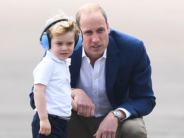 Sering Dapat Hadiah Mewah, Pangeran William Sebut Pangeran George Terlalu Dimanja?