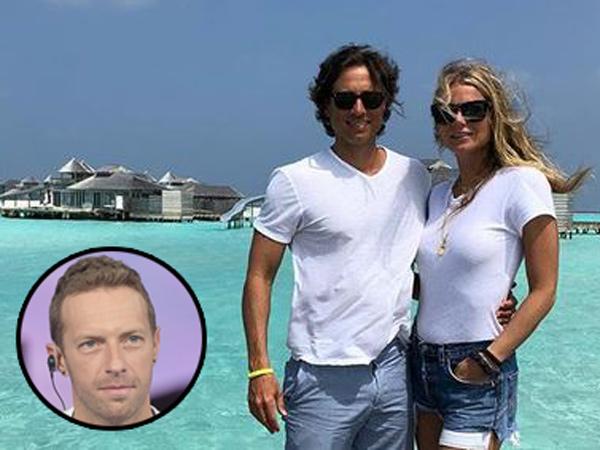 Sudah Lama Cerai, Chris Martin Ikut Honeymoon Gwyneth Paltrow dan Suami Baru
