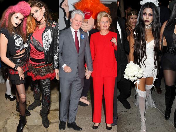 Zombie Hingga Unicorn, Tengok Serunya Pesta Kostum Halloween Para Selebriti Hollywood