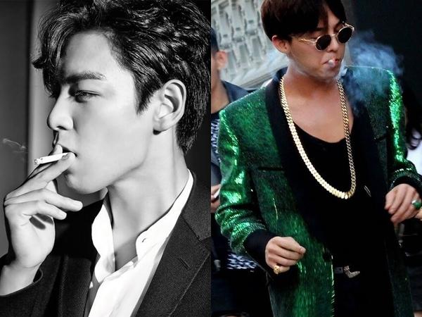 Para Idola K-Pop Ini Pernah Kepergok Merokok