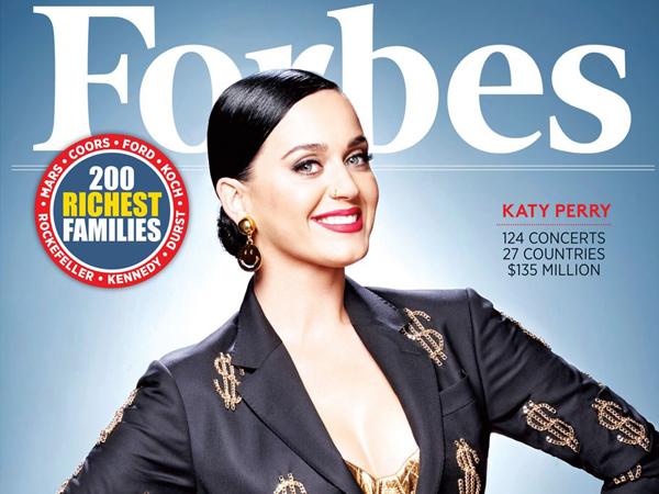 Geser Taylor Swift, Katy Perry Jadi Penyanyi Terkaya di Dunia