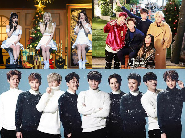 Temani Perayaan Natal dengan Lagu Spesial Musim Dingin Para Idola K-Pop Ini Yuk!