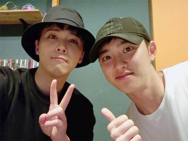 Dukung Proyek Satu Sama Lain, Lee Hong Ki Unjuk Kedekatan dengan D.O EXO