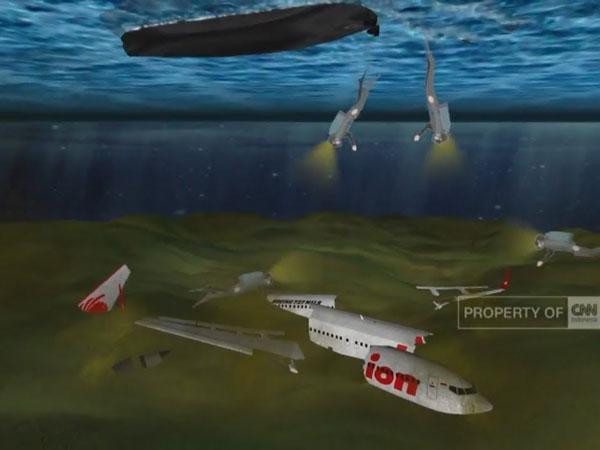Hoax atau Fakta: Video Viral Simulasi Jatuhnya Lion Air PK-LQP JT610
