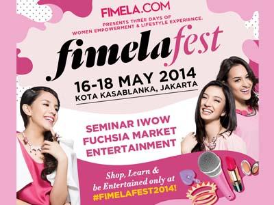 FIMELAFEST 2014, Festival Terbesar untuk Para Perempuan di Jakarta!