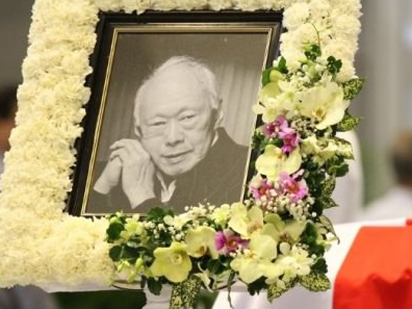 Presiden Jokowi dan Tokoh Dunia Lainnya Hadiri Pemakaman Lee Kuan Yew