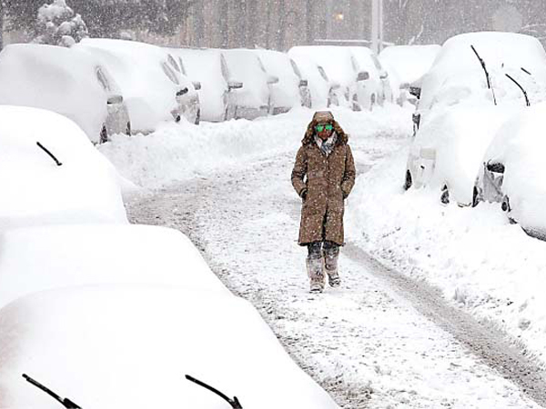 Washington DC Dihantam Badai Salju Terbesar Sepanjang Sejarah, 8 Orang Tewas!