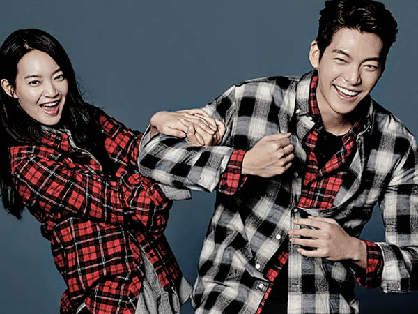 So Sweet, Diam-diam Shin Min Ah Beri Dukungan Kim Woo Bin dengan Kirim Truk Makanan!