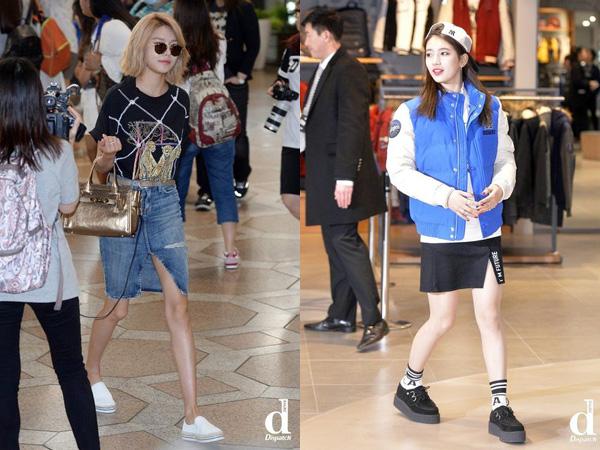 Split Skirt, Outfit yang Tengah Ngetren di Kalangan Idola K-Pop Wanita