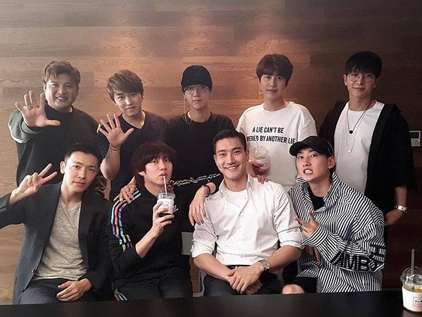 Super Junior Reuni Lagi Sekaligus Resmikan Akun Instagram Baru, Comeback Makin Dekat?