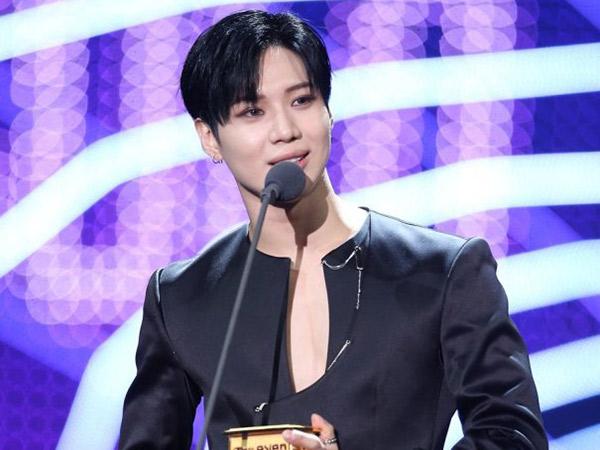 Isi Pesan Haru Taemin SHINee Saat Menang Penghargaan 'Seoul Music Awards 2018'