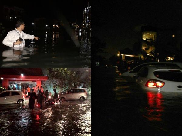 Tanggul Pantai Mutiara Jebol Sebabkan Banjir Parah, Apa Kabar Rumah Gubernur Ahok?
