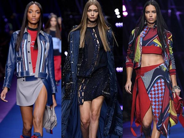 Irina Shayk Hingga Gigi Hadid, Supermodel Ternama Hiasi Runway Versace di Milan Fashion Week