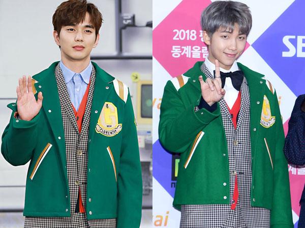Gaya Serba Gucci Yoo Seung Ho vs RM BTS, Siapa Paling Stylish?