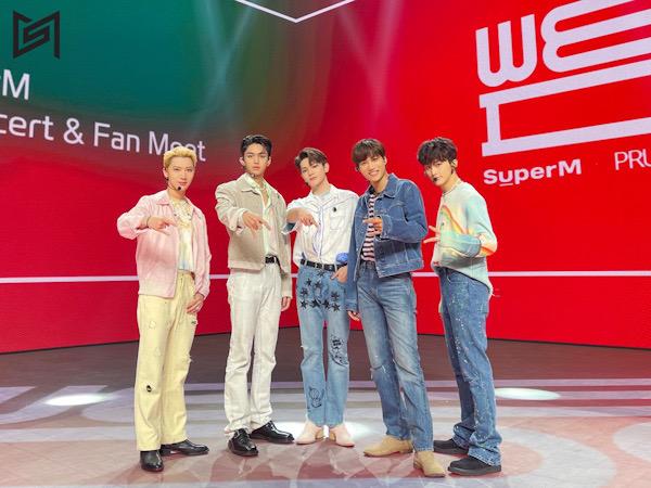Intip Keseruan Prudential x SuperM We DO Virtual Concert & Fan Meet