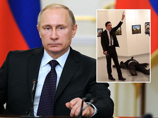 Duta Besarnya Ditembak Mati Polisi Turki, Ini Tanggapan Presiden Rusia Vladimir Putin