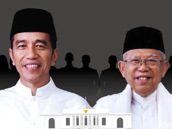 'Presidenku Santuy': Gaya Baru Jokowi-Ma'ruf Kenalkan Menteri Sambil Lesehan, Siapa saja?