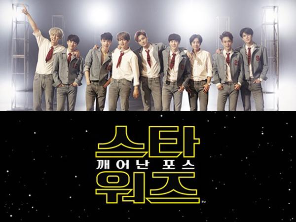 EXO Siap Adu 'Lightsaber' di Proyek Terbaru Bersama 'Star Wars: The Force Awakens'