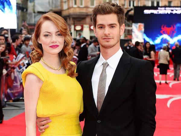 Kepergok Jalan Bareng di London, Emma Stone Balikan Lagi dengan Andrew Gardfield?