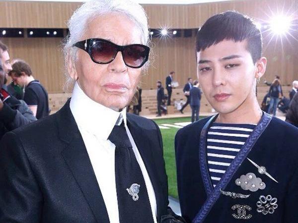 G-Dragon Kembali Jadi Tamu Kehormatan di Fashion Show Chanel di Paris