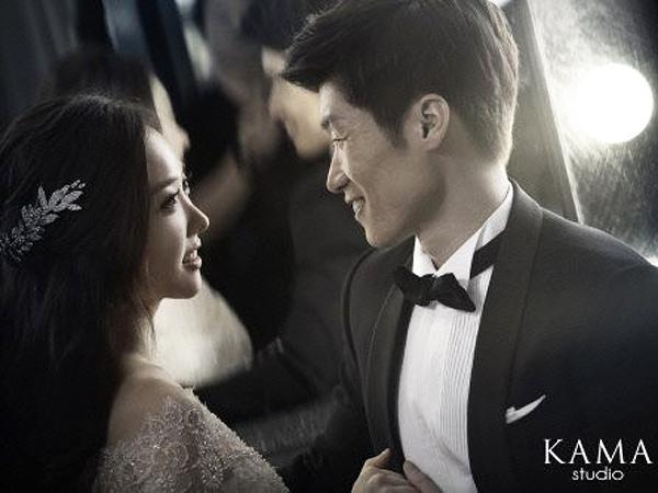 Jelang Pernikahan, Park Ji Sung-Kim Min Ji Rilis Foto Pra-Pernikahan