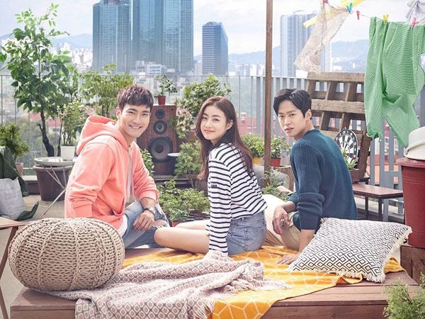 Tiga Karakter Utama Tunjukkan Chemistry di Poster Drama 'Revolutionary Love'