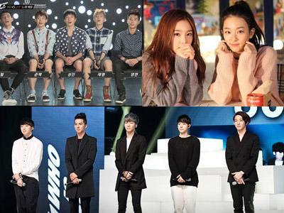 Kenalkan Calon Idola Barunya, Tiga Agensi Raksasa Korea Siap Berkompetisi di 2014?