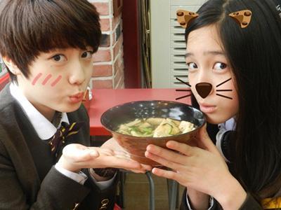 Dani T-ARA dan Hyoyoung 5Dolls Terlihat Akrab dalam Drama School 2013