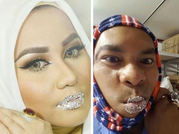 Kocaknya Berbagai Meme Foto Bibir Berlian A la Anniesa Hasibuan yang Jadi Viral