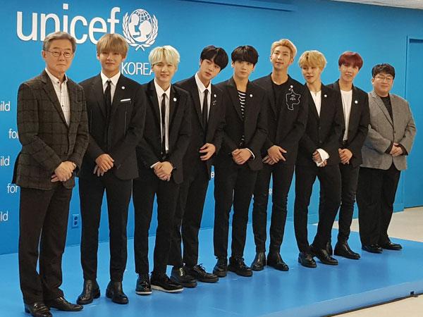 Sukses dengan BTS, CEO Big Hit Entertainment Terima Perhargaan Presiden